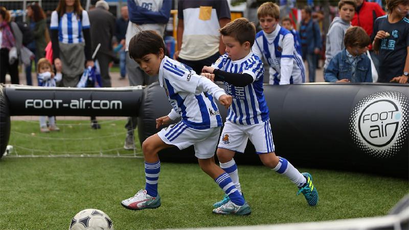 Arène 1 contre 1 Real Sociedad